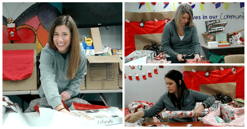 Axcet HR gift wrapping