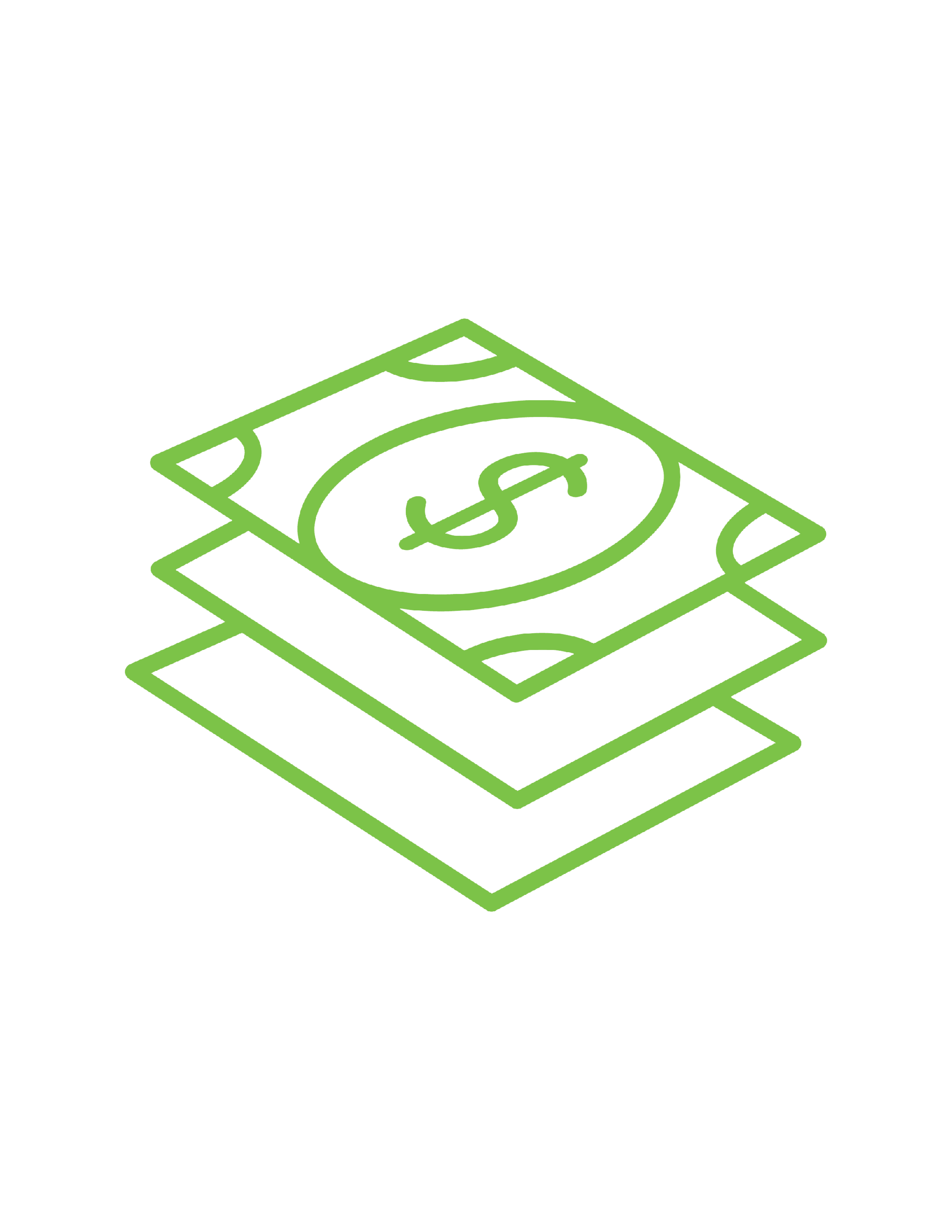 FSA money stack green