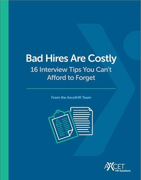 Bad Hires are Costly 16 Interview Tips you can't afford to forget