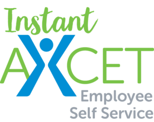 Instant Axcet Employee Self Service Logo