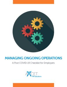 Managing Ongoing Operations - Post Covid-19 Checklist